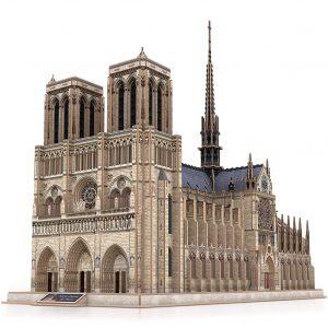 CubicFun Grand Notre Dame de Paris Puzzle 3D pour Enfants et Adultes